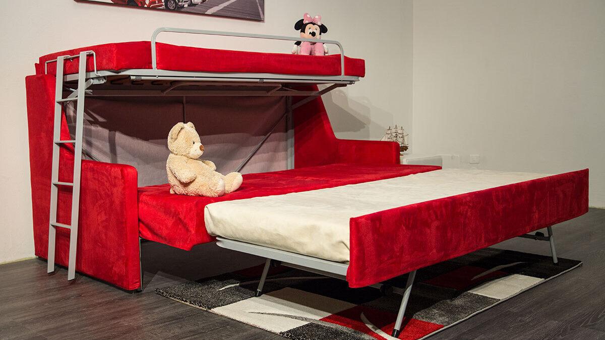 foto Su misura divani letti lettini imbottiti a monza simpson aperto